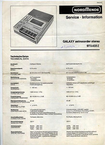Galaxy Astrocorder