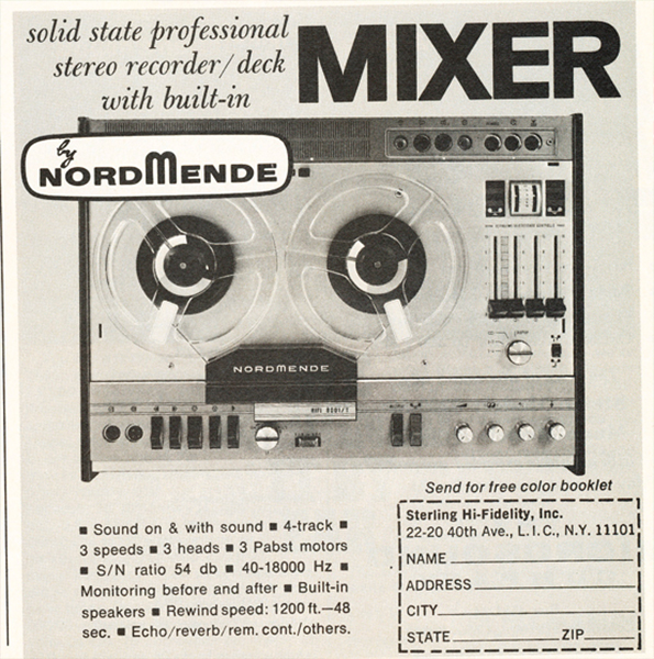 Professional Stereo Recorder