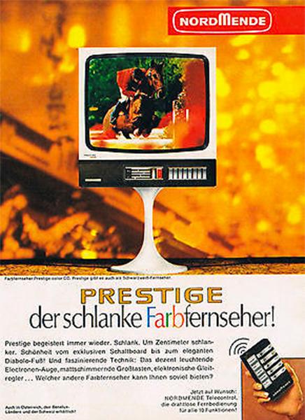 Prestige: Der Schlanke Farbfernseher!