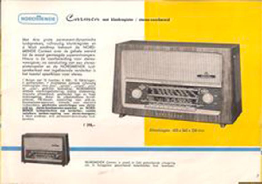 Table Radio Console