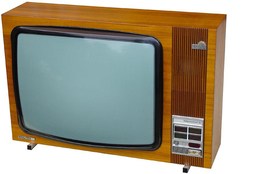Spectra Color TV (Side)